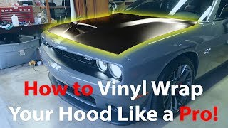How to Wrap a Challenger Hood! Step by Step Tutorial