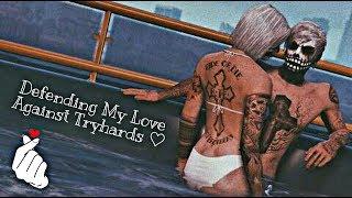 Gta 5 Online: Defending My Love Against Tryhards! 💪❤