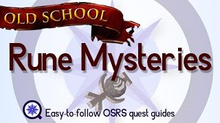 Rune Mysteries - OSRS 2007 - Easy Old School Runescape Quest Guide