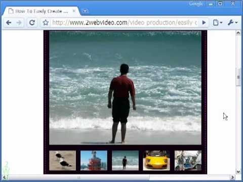 Create IFrame Slideshow Easily With Free HTML Code