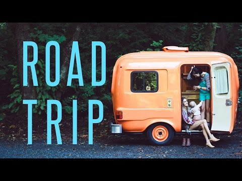 Road Trip around Washington State // A Month of Escape with Oldschool Trailers