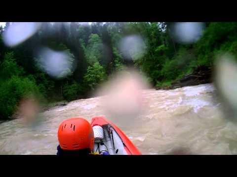Ammer 01 Juni 2013 (bei Hochwasser)