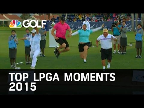 Top LPGA Moments of 2015 | Golf Channel