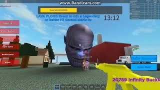 Players vs Thanos head (Roblox)