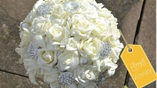 1000 Subscriber Give away:  Bridal Bouquet