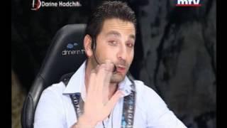 """Darine Hadchiti """"Bel Hawa Sawa 2011"""" on MTV Lebanon  (Part 1)"""