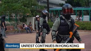 Unrest Continues in Hong Kong as Police Officer Slashed in Neck