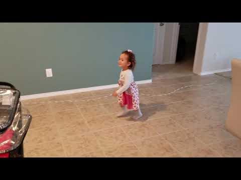 Mila ballerina. 22 months