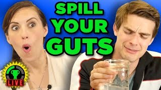 Spilling Our SECRETS! | Spill Your Guts or Fill Your Guts Challenge