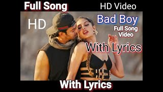 Bad Boy Full Song (Lyrics) | Sahoo Movie Song | Prabhas , Jaqueline Fernandez | Badshah | Bad Boy.mp3