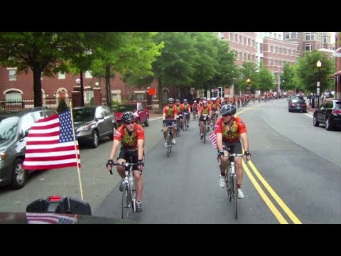 Members of Blacksburg Volunteer Rescue Squadto bike in honor of fallen emergency medical personnel