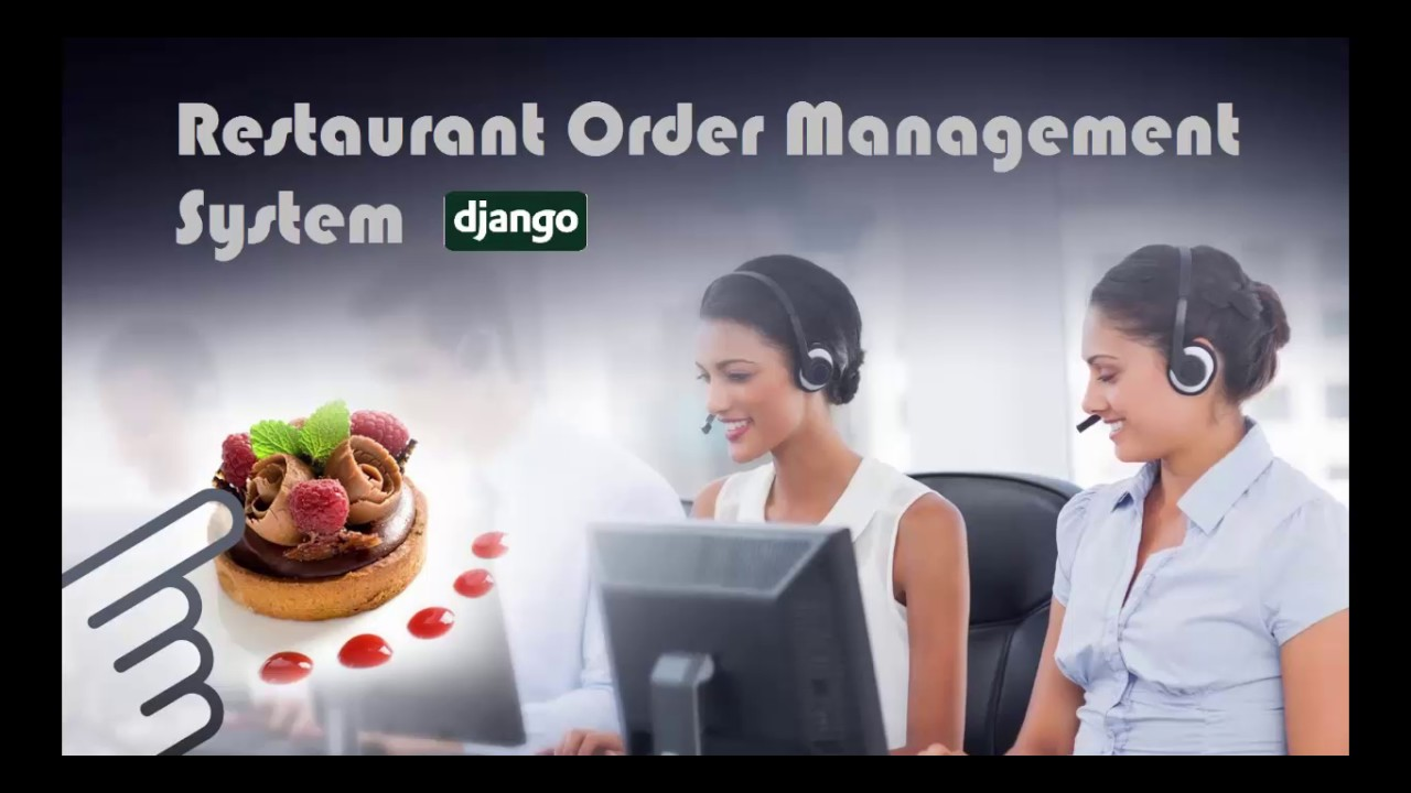 Django Restaurant Order Management System
