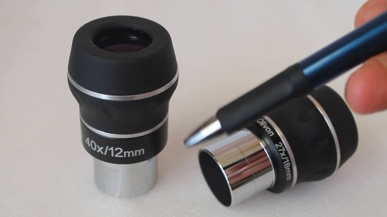 Telescope eyepieces. understanding focal lengths youtube
