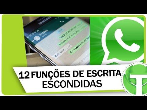 Conheça todas as funções de escrita escondidas no WhatsApp