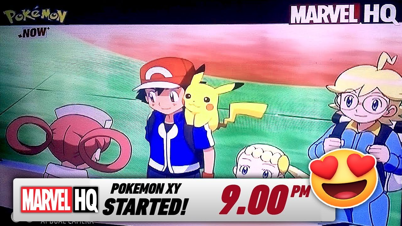 Pokemon XY on Marvel HQ!!!😍 Tamil | After 6 Years Disney planned to  re-telecast S17