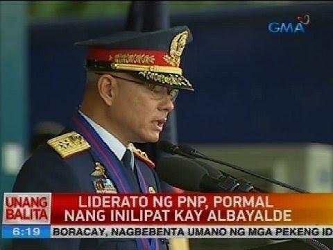 Liderato ng PNP, pormal nang inilipat kay Albayalde
