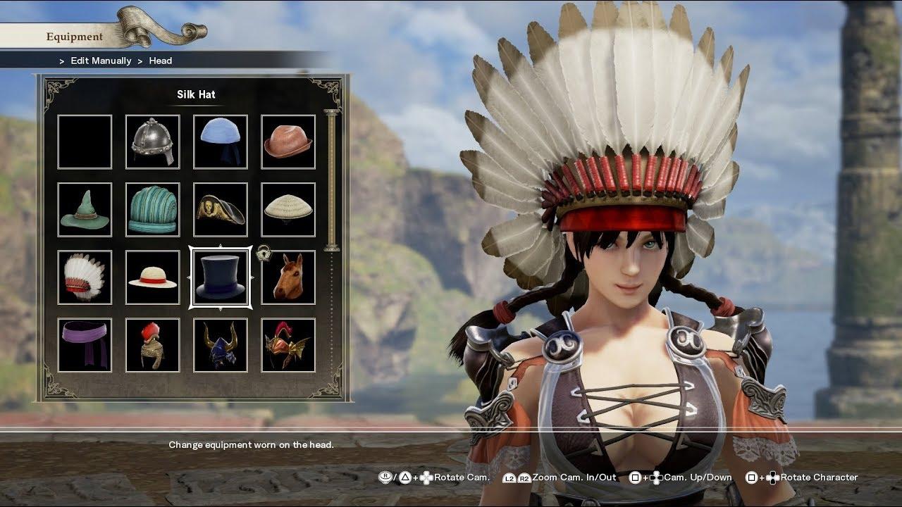 Soul Calibur 6 Create Character Mode Female