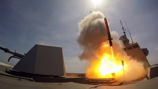 MdCN Naval Cruise Missile 1st Launch from Aquitaine FREMM Frigate French Navy Marine Nationale