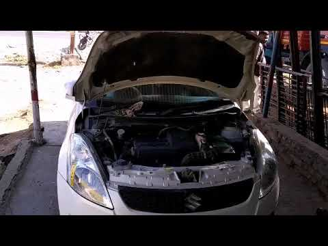 Maruti suzuki swift engine completely service oil filter air filter coolant change paid service car