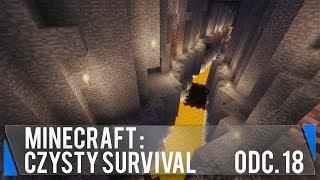 Potrzebuję DUŻO redstona (Minecraft: Czysty survival #18)