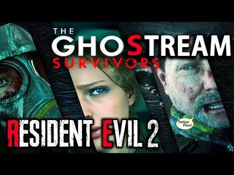 RESIDENT EVIL 2 REMAKE ● THE GHOST SURVIVORS [DLC] ХАРДКОР ПРОДОЛЖАЕТСЯ