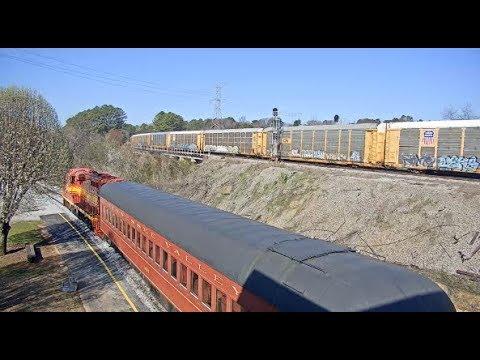 Chattanooga, Tennessee USA (TVRM) - Virtual Railfan LIVE