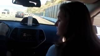Мчимся в Сан Франциско с Лос Анджелеса под правильную музыку :)
