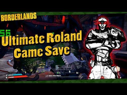 Borderlands   My Lvl 69 Ultimate Roland Game Save