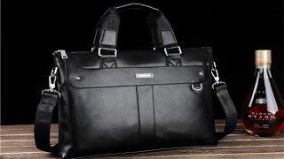 видео Мужские кожаные сумки