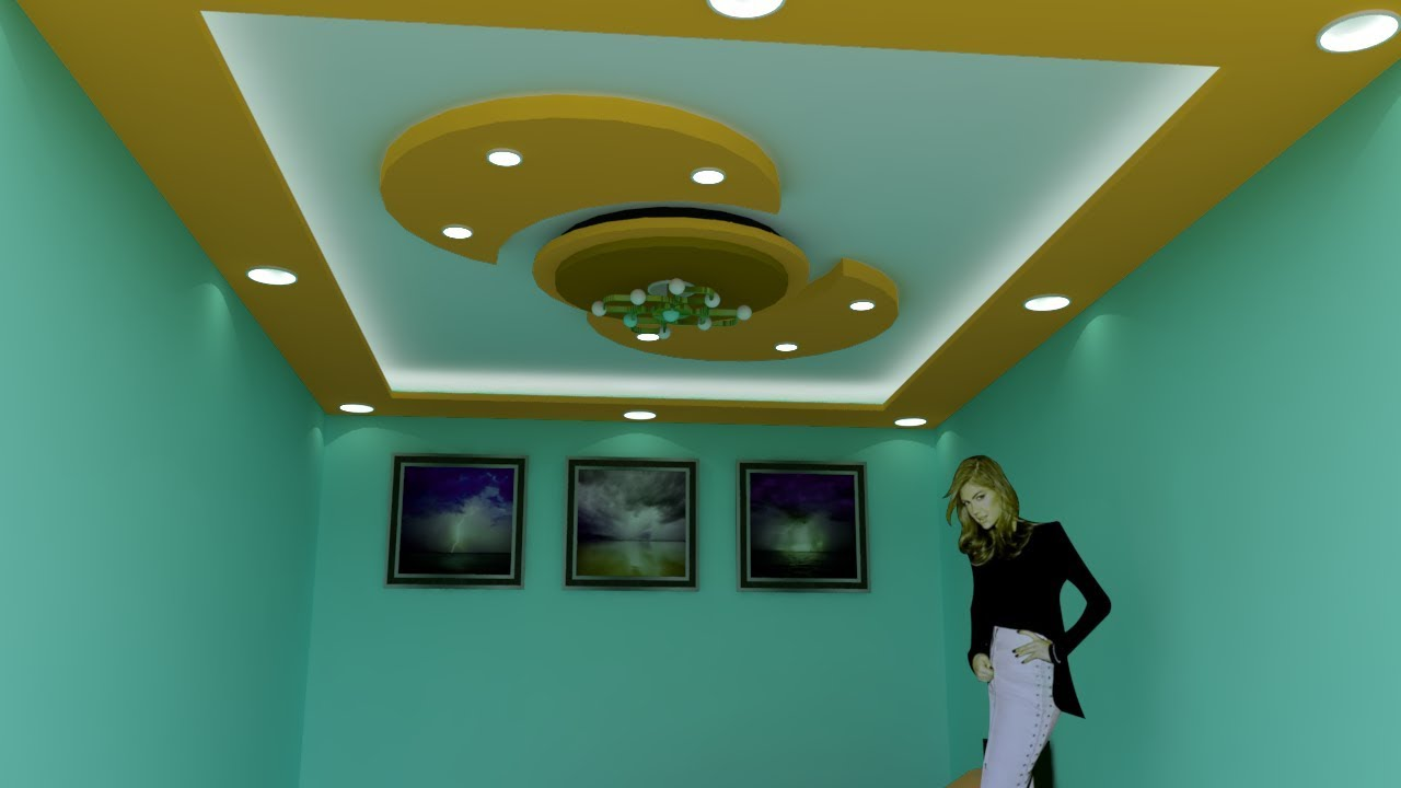 Small Bedroom False Ceiling Design 2018 Latest Gypsum ...
