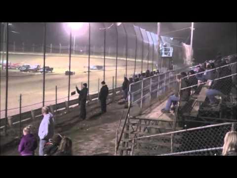 Late Model B-Main #2 Moler Raceway Park 11/14/15.