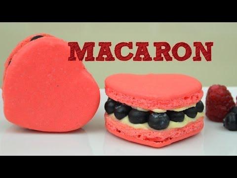 HEART-SHAPED MACAROONS | RECIPE | MUSAS