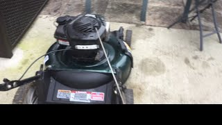 20 Dollars Bolens 21 Inch 140cc Push Mower That Just Needed A Carb Clean!