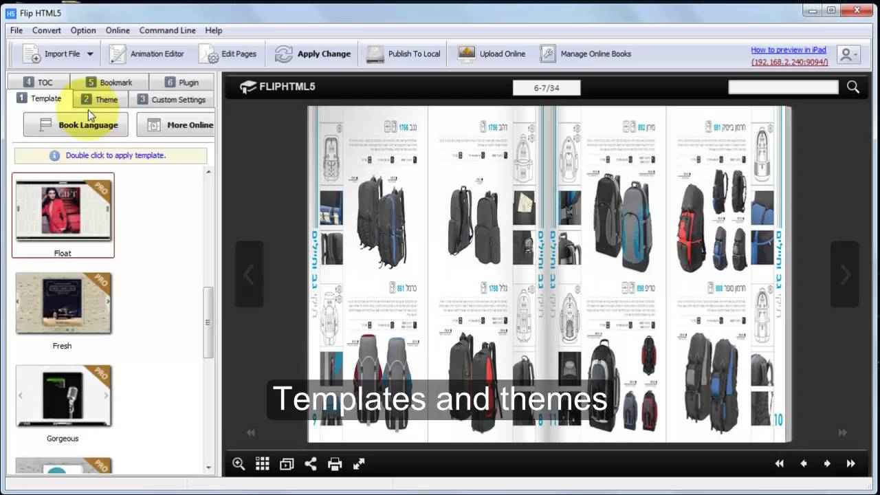 Publish Your Own PDF Brochure Using FlipHTML5 Brochure Tool