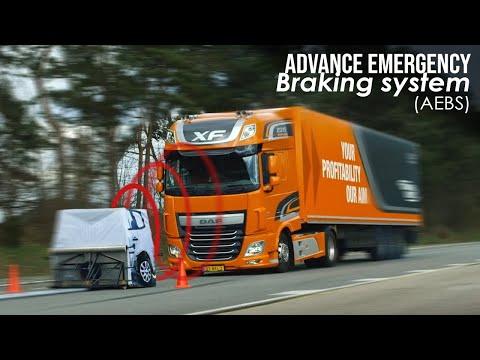 DAF Trucks UK | AEBS (Advanced Emergency Braking System) | Promotional Video