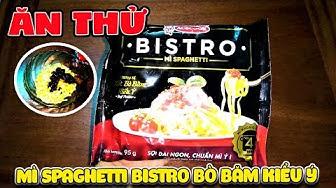 Thử ăn Mì Spaghetti Bistro Bò Băm (  Pasta Italian review ) | Văn Hóng Food