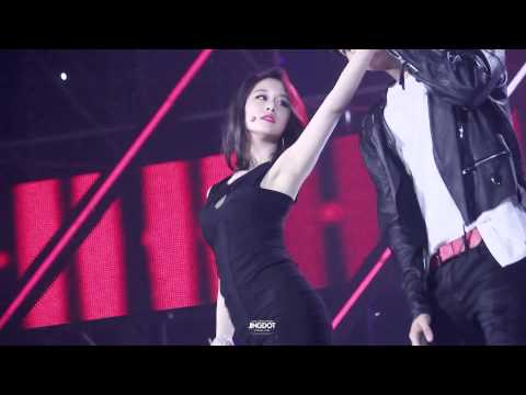 140622 - Trouble Maker - Jiyeon (T-ARA) ft Jeong Wook SBS The Show