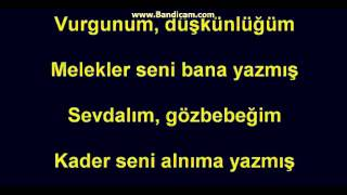 Yusuf Guney-Melekler Seni Bana Yazmis lyrics