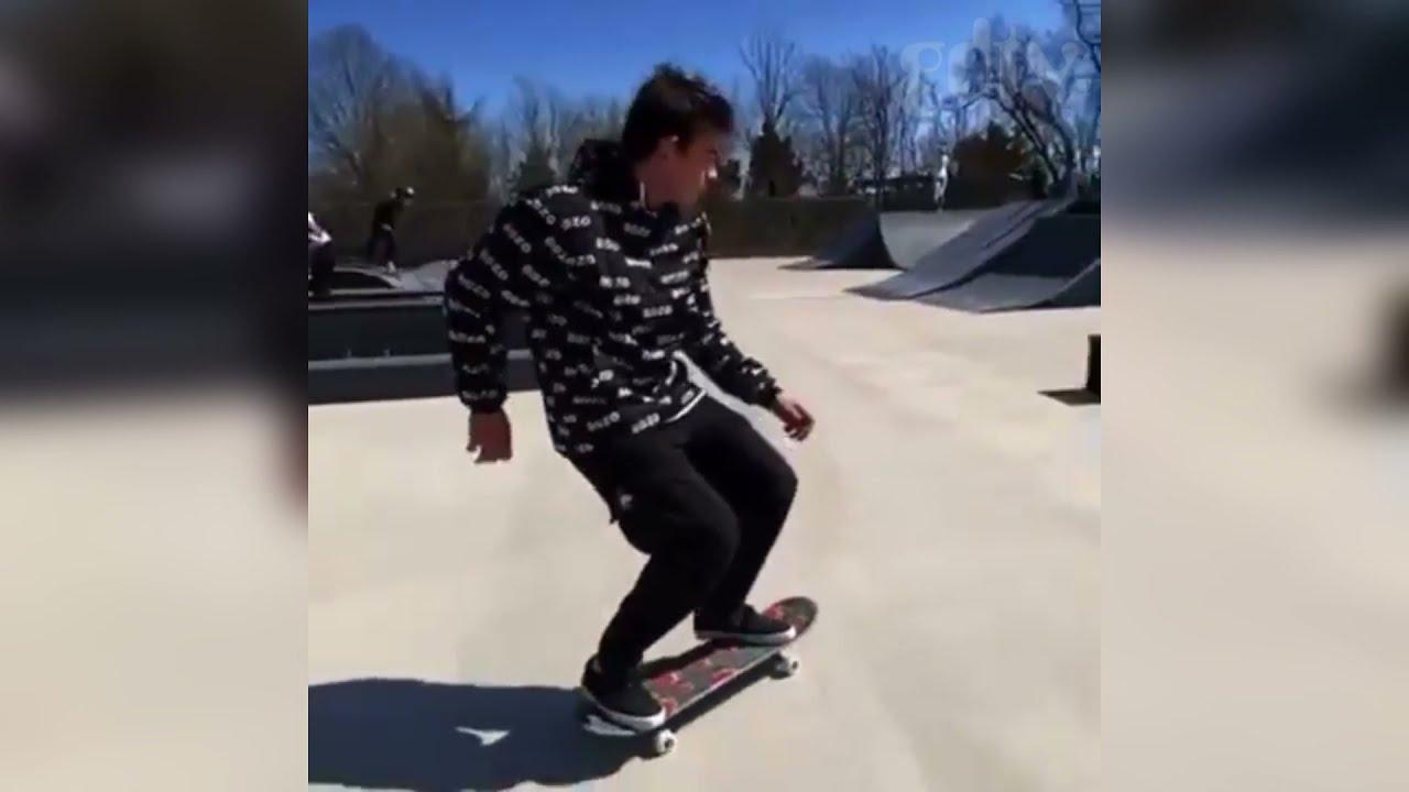 Nick Pammer Skating In BOZO Worldwide