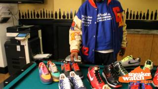 DJ Clark Kent Breaks Down Some Of His Prized Sneakers