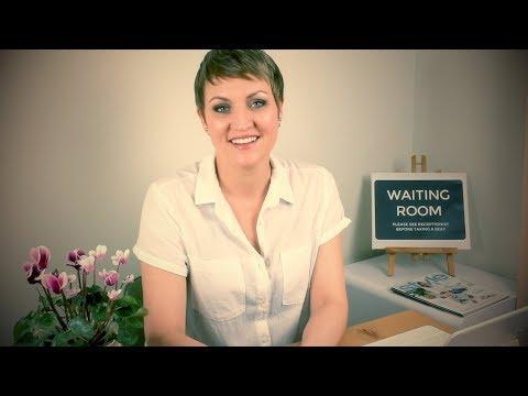 ASMR Medical Receptionist Roleplay ◆ Soft Spoken Doctor Clinic