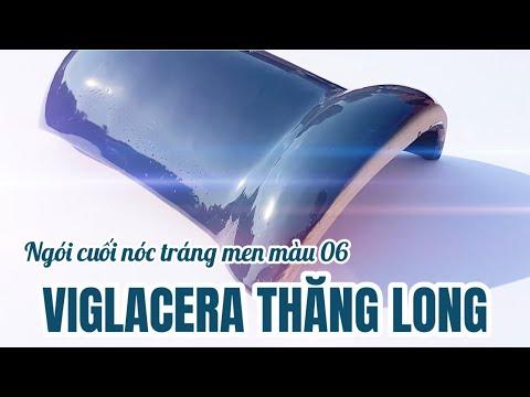 Ngói Cuối Nóc Màu Xanh 06 Tráng Men Viglacera Thăng Long | Cuối Nóc Tráng Men Màu Xanh 06 Viglacera