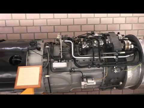 Junkers Jumo 004 turbojet engine - Strahltriebwerk