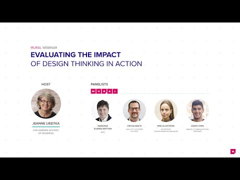 Webinar: EVALUATING THE IMPACT OF DESIGN THINKING IN ACTION