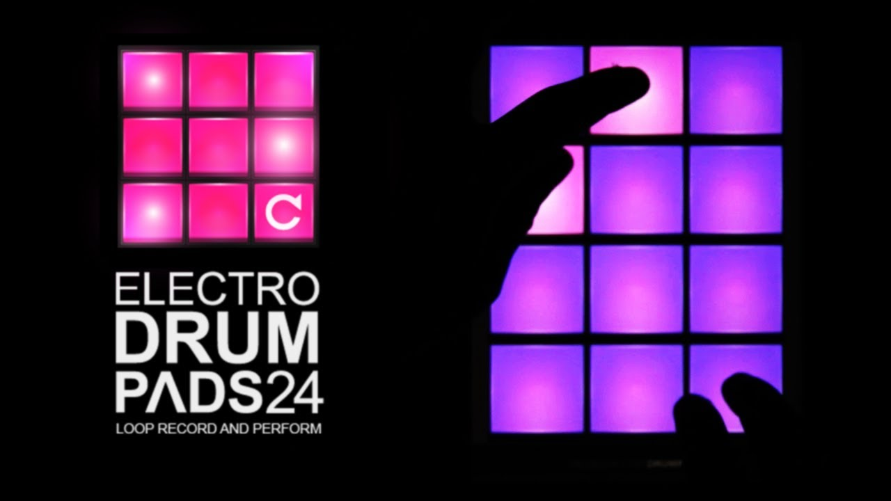 Download electro drum pads 24 (full) for android | electro drum.