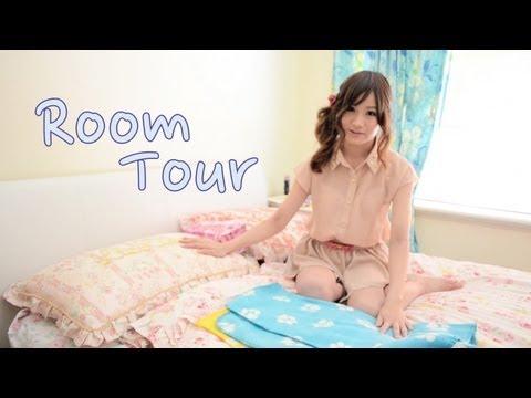 My Room Tour! 私の部屋のツアー
