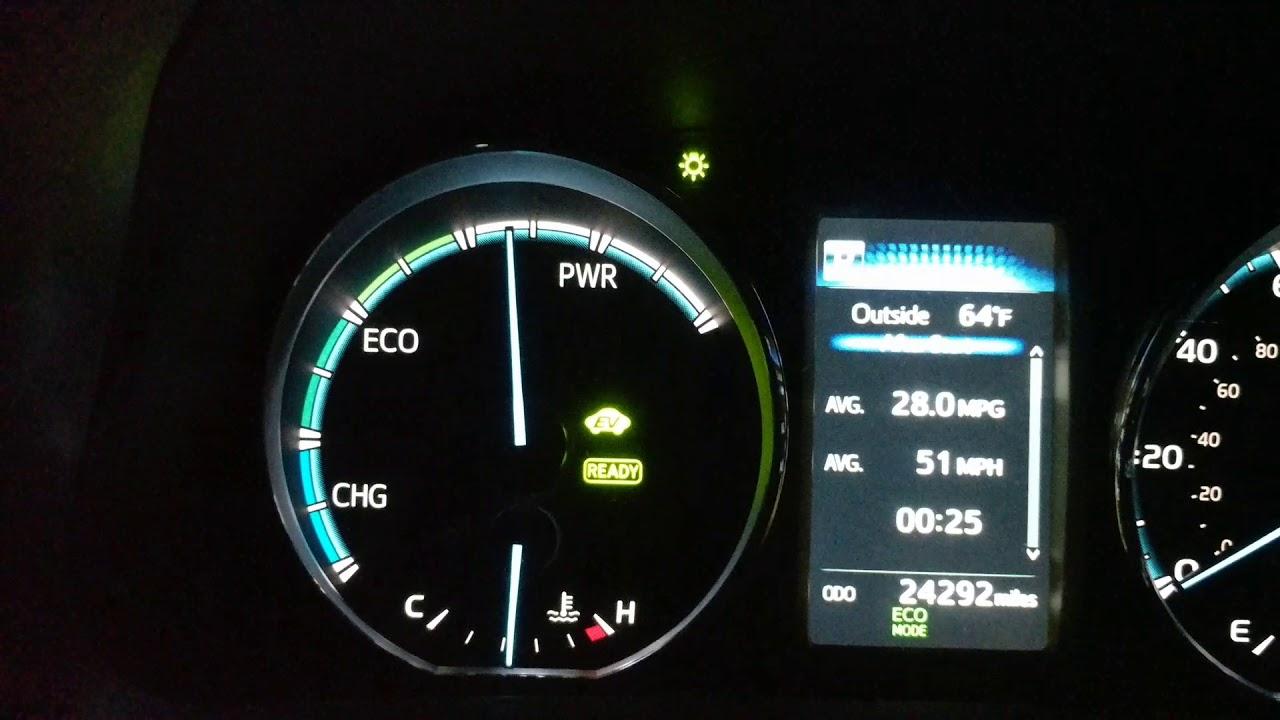 2016 Rav4 Hybrid System Indicator Problem