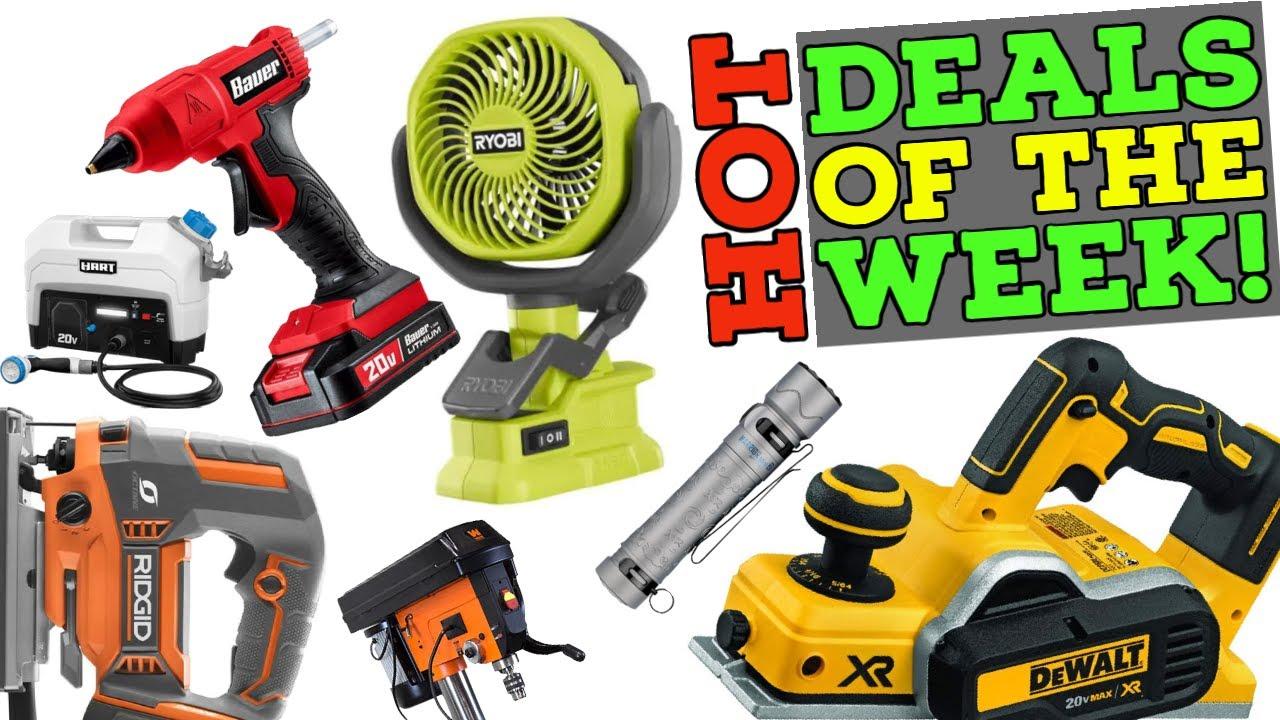 Hot Tool Deals of the Week! (07/26/21 #DoTDotW)