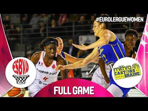 LIVE 🔴 - ESBVA-LM v Castors Braine - EuroLeague Women 2019