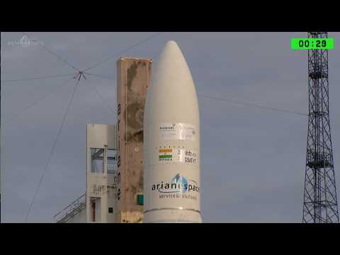 Ariane 5 VA238 Launched GSAT 17 of ISRO and Hellas Sat 3 Successfully